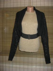 bolero HM negru tricot (1)