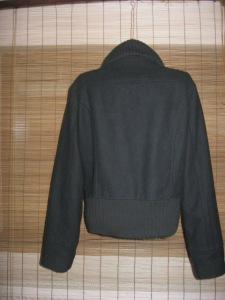 jacheta neagra lana