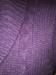 Bluza violet detaliu