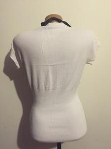 Bluza alba maneca scurta (1)