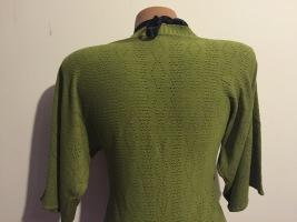 Bluza verde tricot (2)