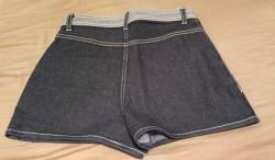 Pantaloni scurti blug 1