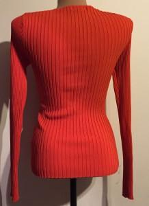 Bluza petrecuta portocaliu aprins spate
