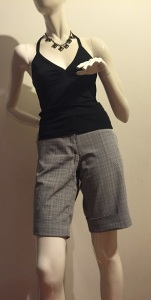 Pantalobi scurti in carouri (3)